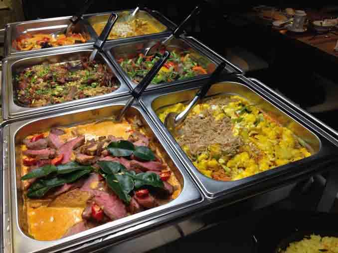 Thai Gerichte im Thai Orchidee Restaurant Bronschhofen